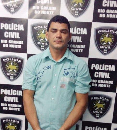 Hugo Nelson foi preso por força de mandado de prisão – Foto Degepol