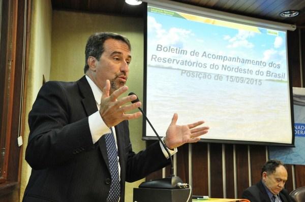 Ministro garante celeridade nas obras de transposição do São Francisco ao RN