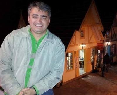 Dr. Leonardo Macêdo, vítima.
